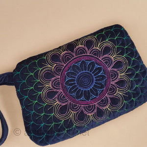 Aurora Borealis Zipper Purse