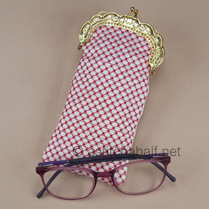 Beauty of Asia Eyeglass Case with Metal Clip - a-stitch-a-half