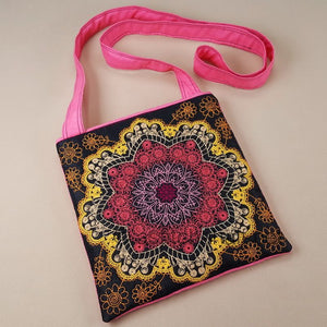 Turkish Delight Round Cross Body Bag
