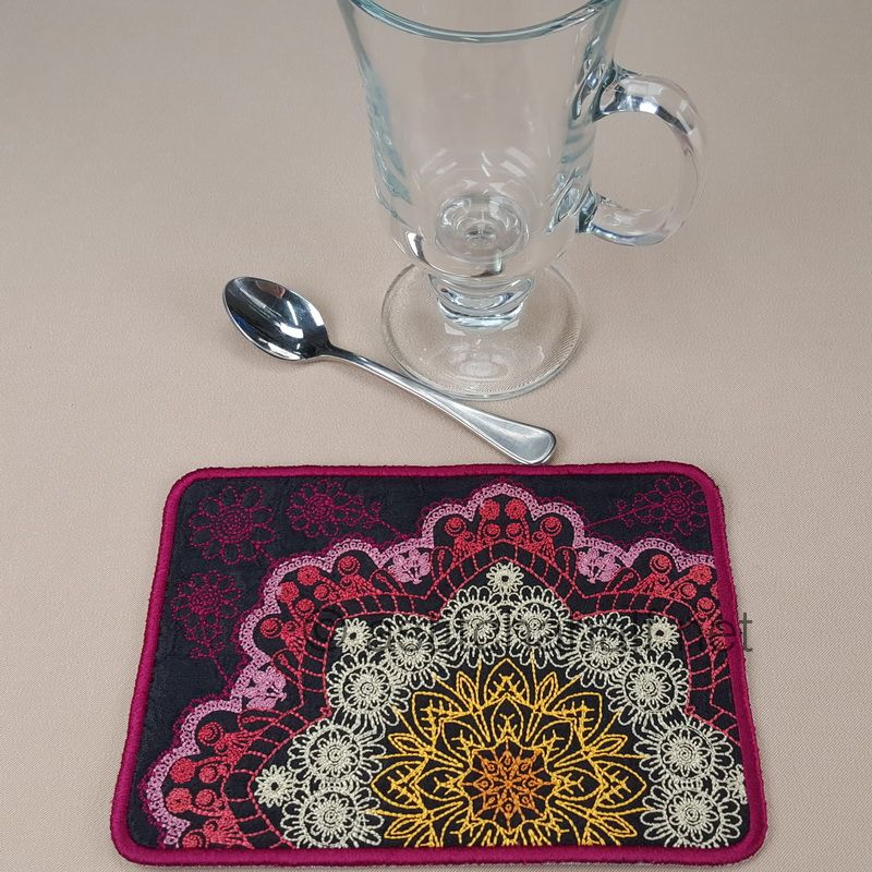 Turkish Delight Mug Rugs
