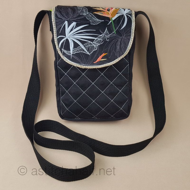 Strelitzia Smart Satchel Bag - a-stitch-a-half