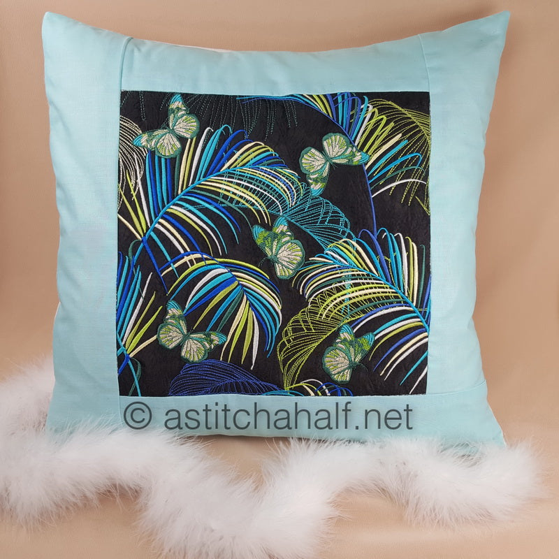 Neotropical Decorative Pillow Designs - a-stitch-a-half