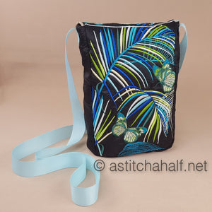 Neotropical Summer Satchel Bag - a-stitch-a-half