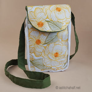 Sweet Sunshine Satchel Bag - a-stitch-a-half