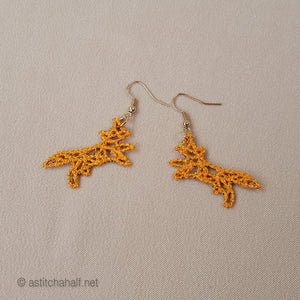 Origami Freestanding Lace Earrings Combo - a-stitch-a-half