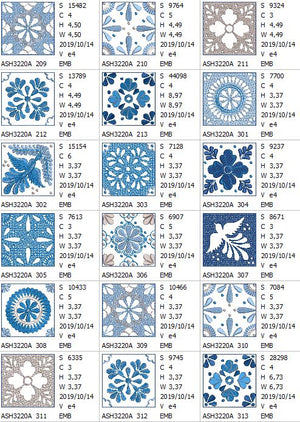 Winter Tears Quilt Block Combo - a-stitch-a-half