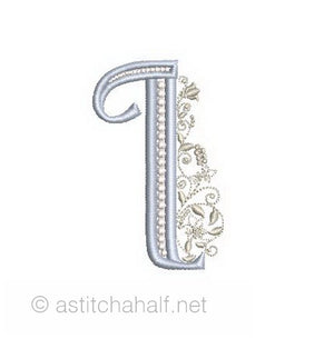 French Knot Monogram I