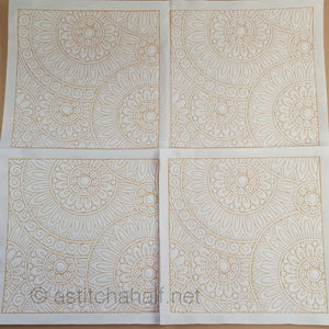 Seamless Medallion Quilt Set