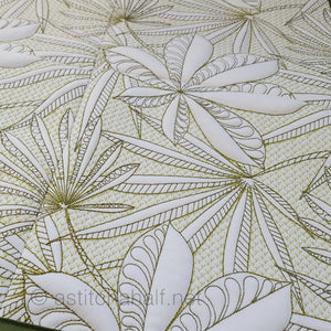 Seamless Rain Forest Quilt Set