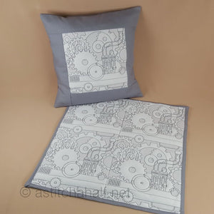 Seamless Steampunk Quilt Set