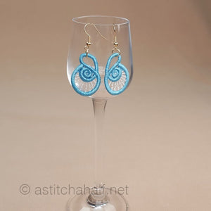 Junonia Freestanding Lace Earrings