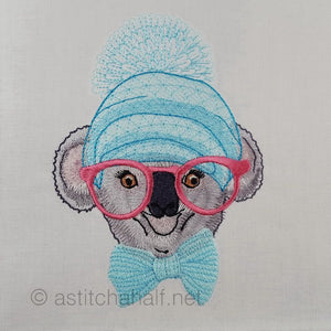 Kirra Koala with glasses
