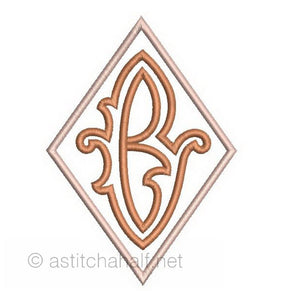 Richelieu Cutwork Monogram B