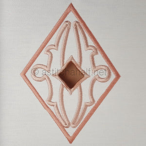 Richelieu Cutwork Monogram H