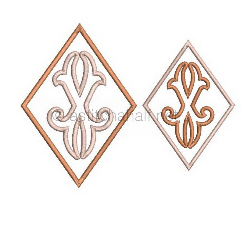 Richelieu Cutwork Monogram X