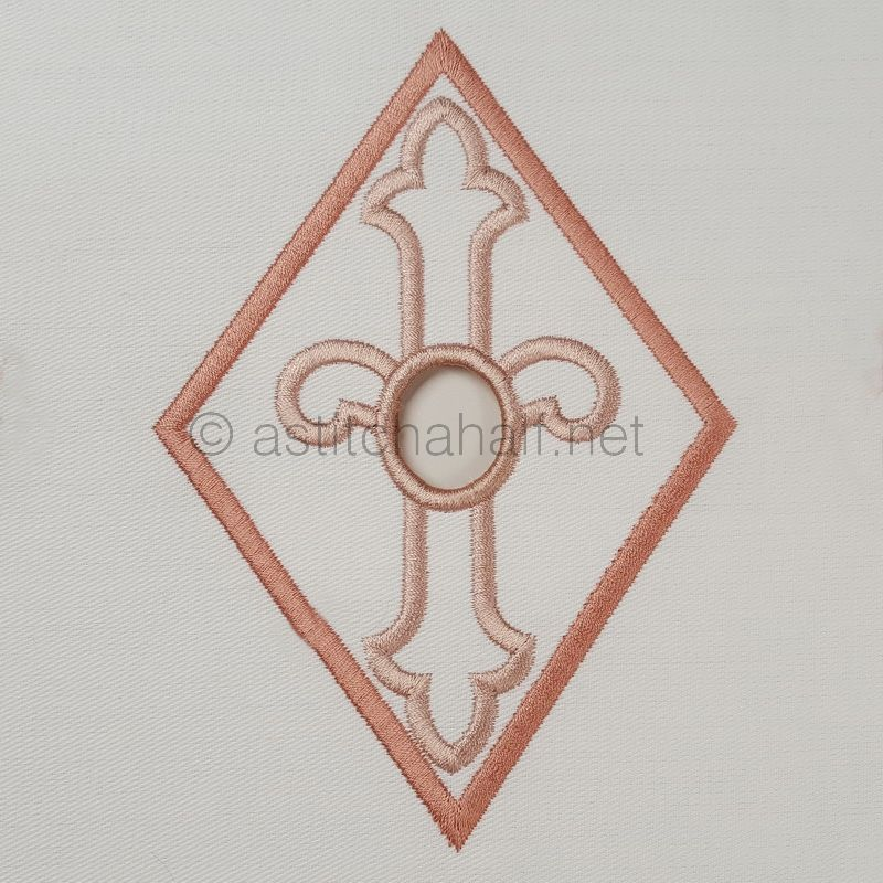 Richelieu Cutwork Monogram I