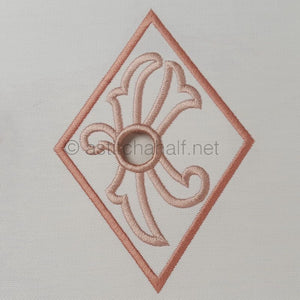Richelieu Cutwork Monogram K