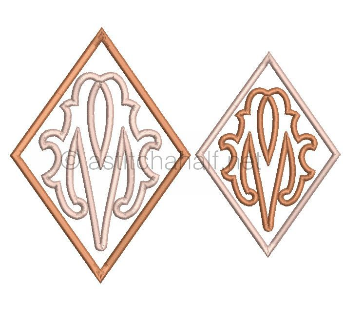 Richelieu Cutwork Monogram M