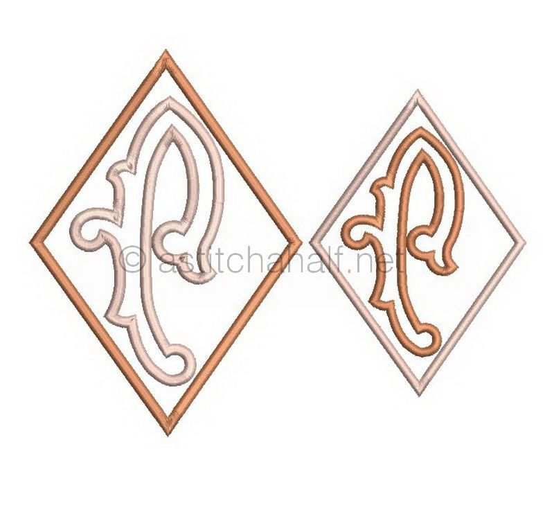 Richelieu Cutwork Monogram P