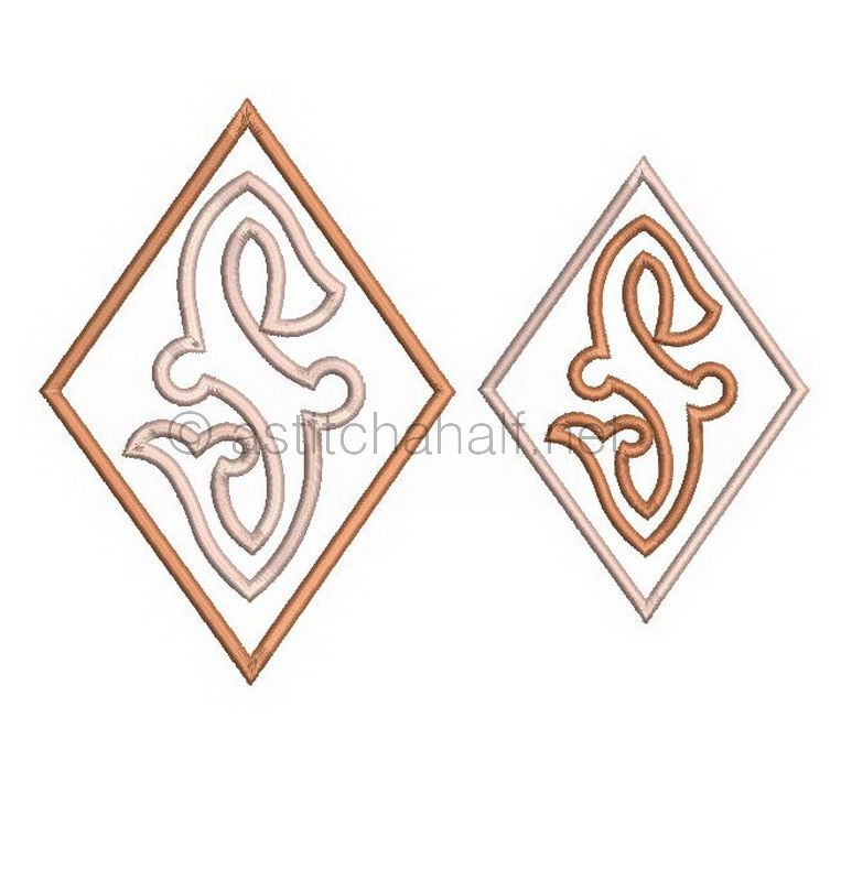Richelieu Cutwork Monogram S