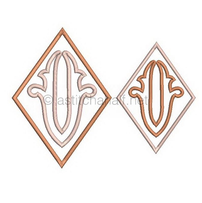 Richelieu Cutwork Monogram U