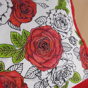 Seamless Dream of Roses Quilt Set