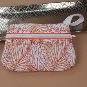 Protea Magnifica Zipper Bag