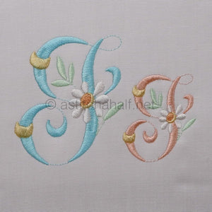 Summer Dance Monogram Letter I