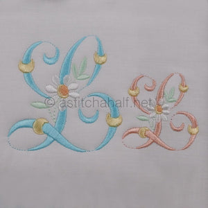 Summer Dance Monogram Letter L
