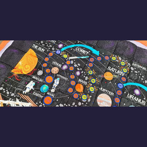 Space Exploration Complete Quilt and Game