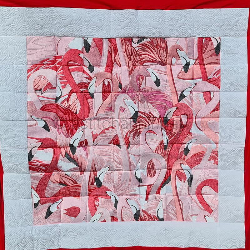 Flamingo Land Grand Quilt Combo