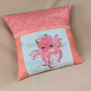 Baby Octopus Reading Pillow Combo