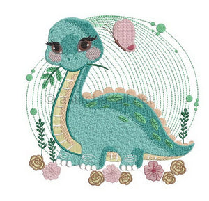 Baby Dinosaur Reading Pillow Combo