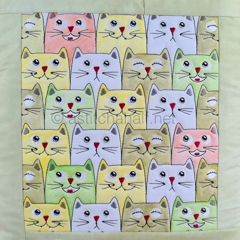 Felines Unlimited Seamless Quilt Combo