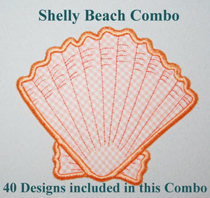 Shelly Beach Combo - a-stitch-a-half