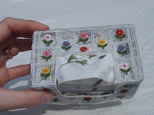 Fsl and Applique Petite Tissue Boxes - a-stitch-a-half