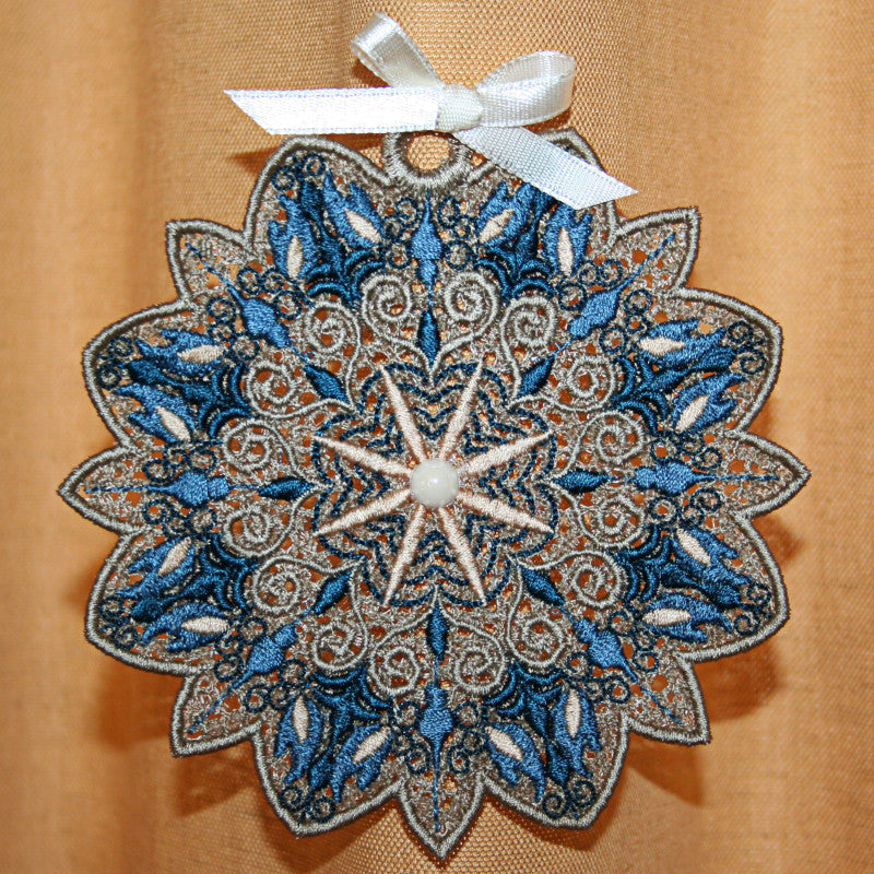Antique Snowflake 01 - a-stitch-a-half