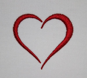 Satin Heart - a-stitch-a-half