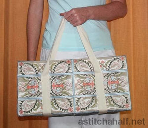 Amazing Duffel Bag Applique