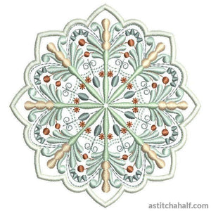 Antique Snowflake 03 - astitchahalf