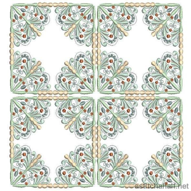 Antique Snowflake 04 - astitchahalf