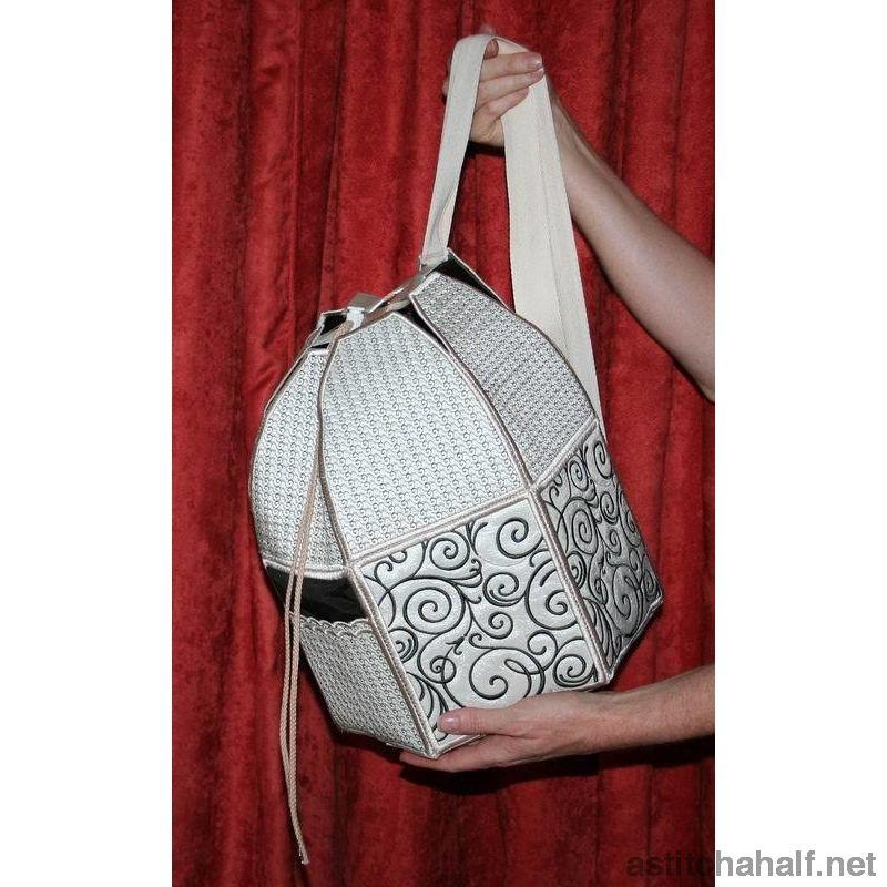 Art Deco Back Pack - astitchahalf