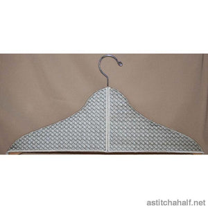 Art Deco Hanger Covers - astitchahalf