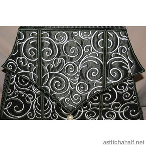 Art Deco Tote Bag - a-stitch-a-half