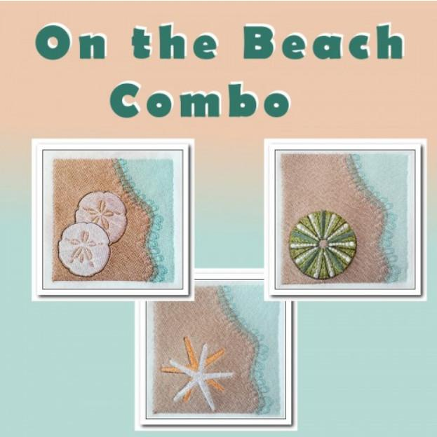 On the Beach Combo - a-stitch-a-half