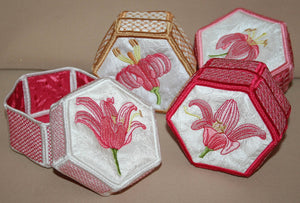 Tiger Lily Trinket Box Combo