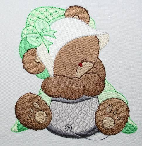 Lucy Bear Combo - a-stitch-a-half
