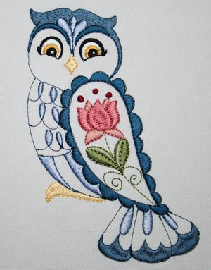 Oreo the Owl - a-stitch-a-half