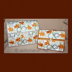 Applique Daffodil Chests