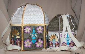 Bohemian Back Pack - a-stitch-a-half